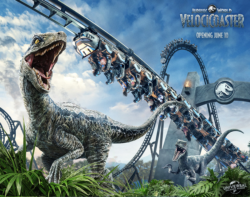 Universal Studios Orlando Announces Opening Date Of Jurassic World Velocicoaster The Go To Family