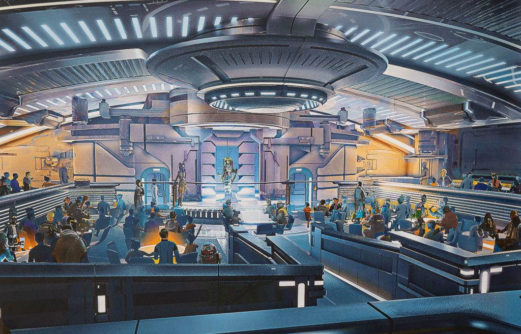 Disney's Galactic Starcruiser Hotel