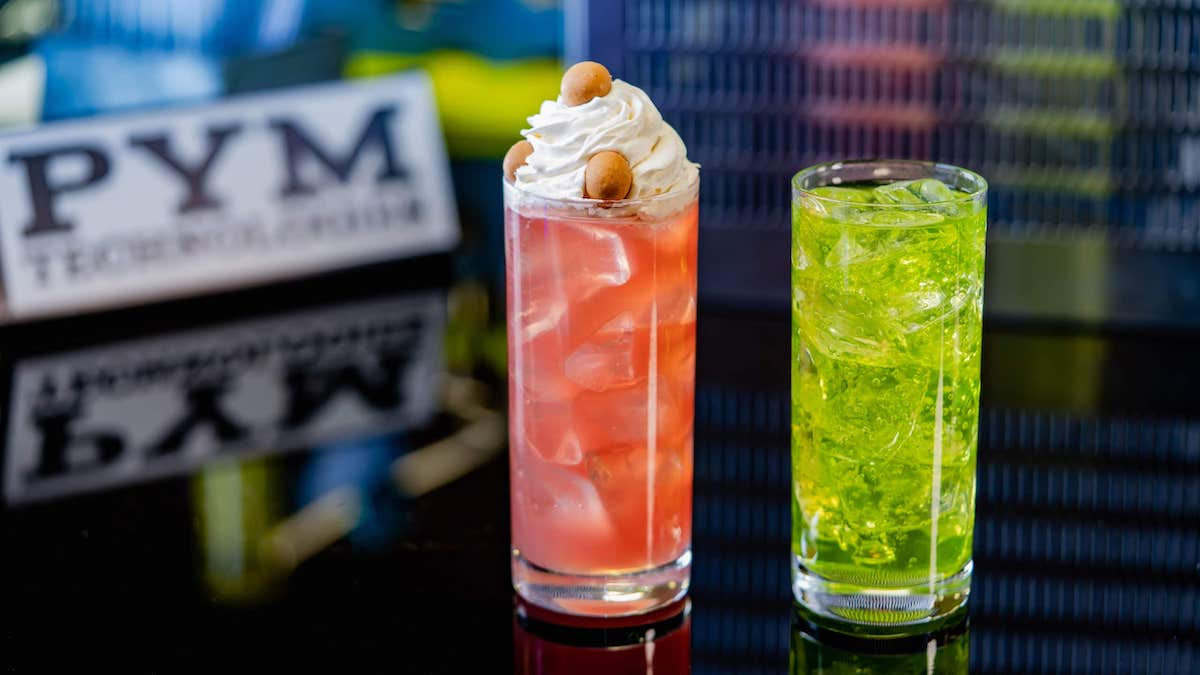 Disneyland News: Spicy Loaded Pretzel & Pym Cocktails Coming to Avengers Campus