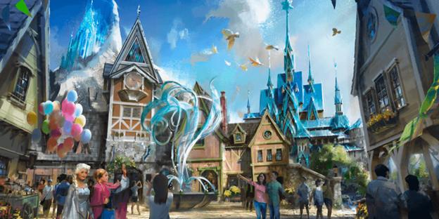 Arendelle Frozen Land Disneyland Hong Kong