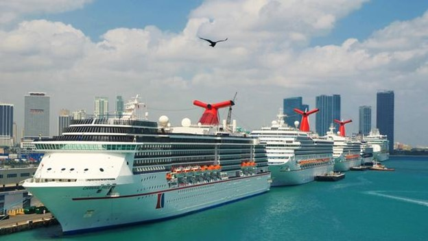 Carnival Ships in Port