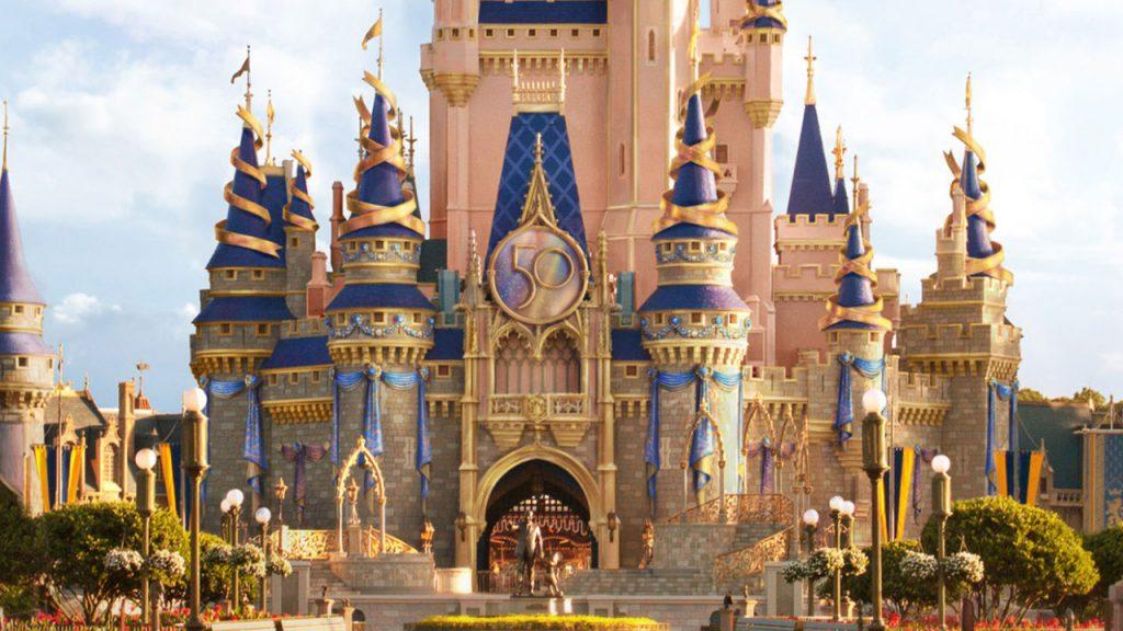 Cinderella-Castle-50th-Anniversary-Disney World