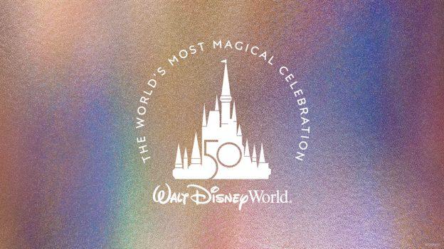 Disney World 50th Anniversary Logo