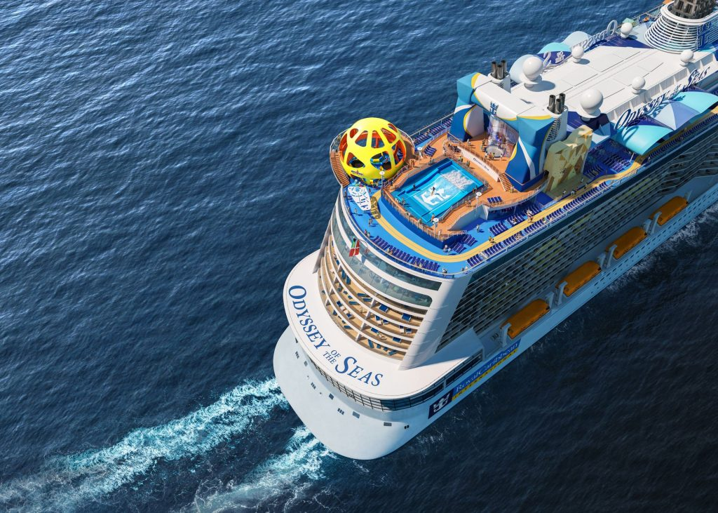 Royal Caribbean's Odyssey of the Seas is Fleeing Israel for Port Canaveral