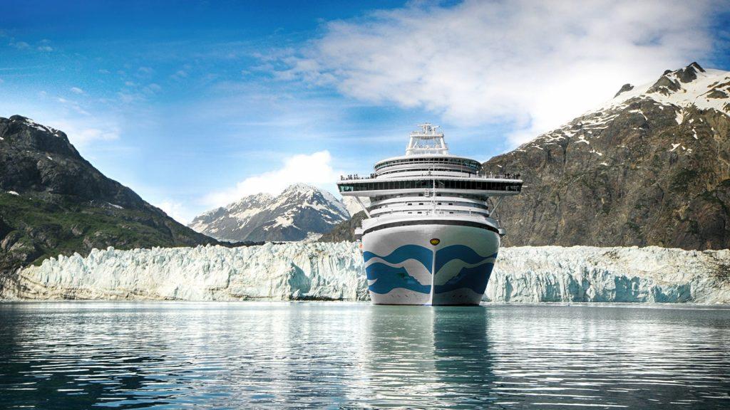 Princess Cruise Ship Alaska Glacier