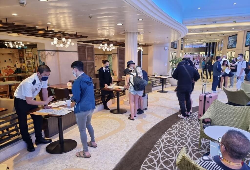 Royal Caribbean Quantum of the Seas Enhanced Protocols