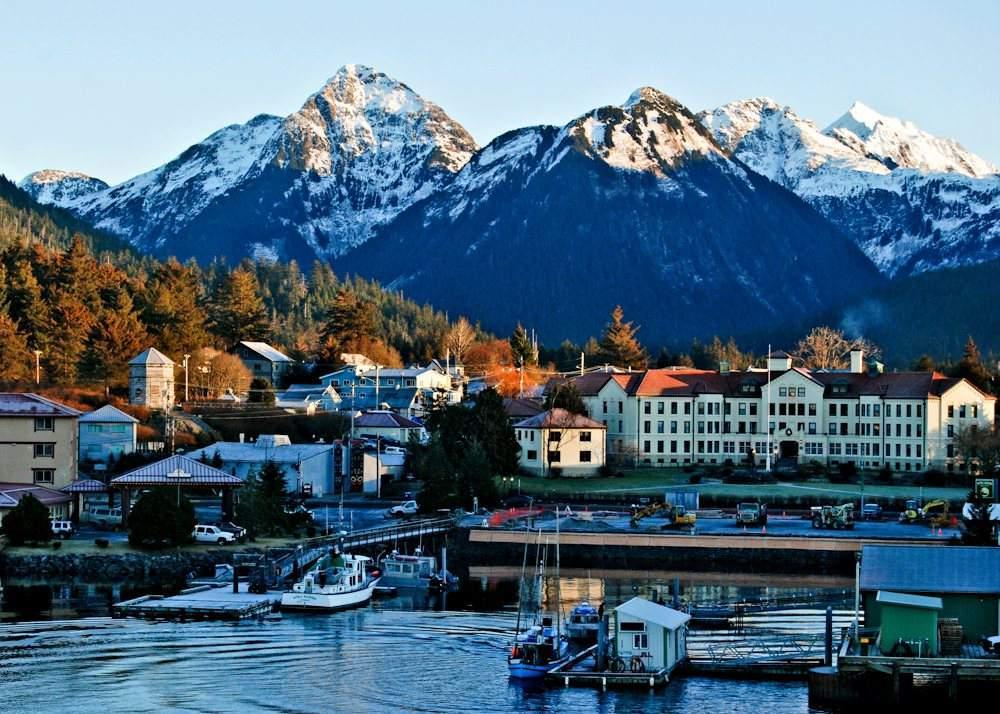Sitka Port Alaska