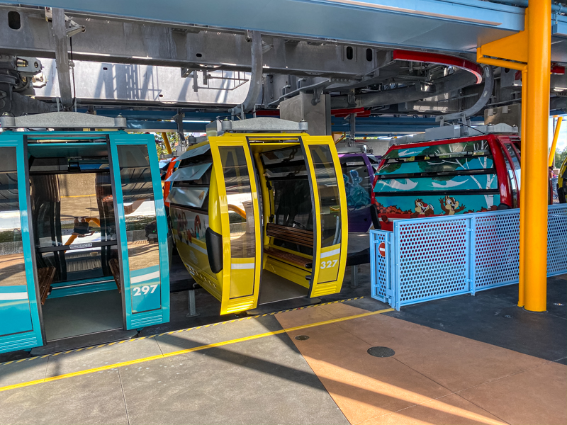 Walt Disney World News: Disney Skyliner Gondola Malfunctions – Yet Again!