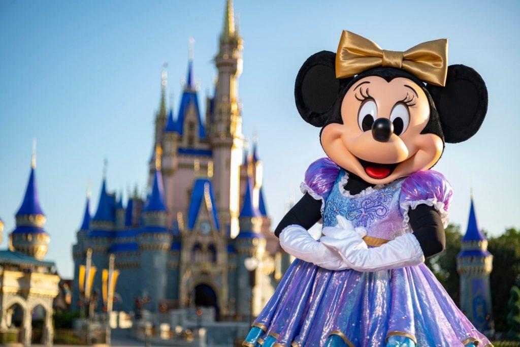 Walt Disney World and Minnie Mouse