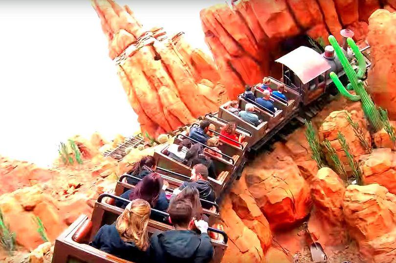 Big Thunder Mountain Railroad, Disney World