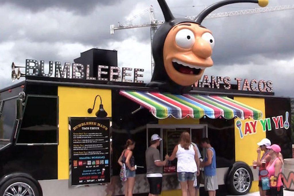 Bumble Bee Man's Taco Truck