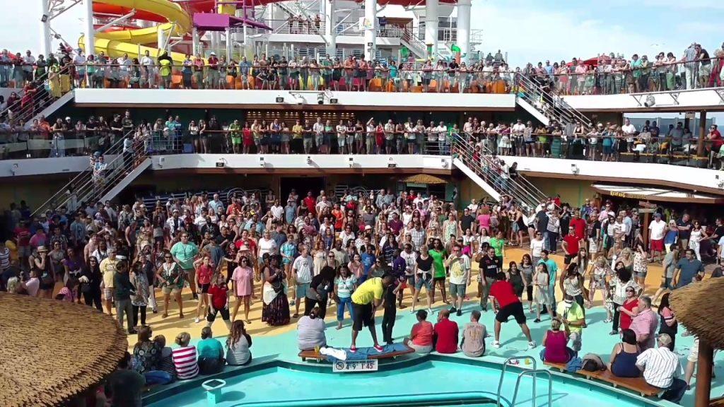 CArnival Vista Sail Away Party