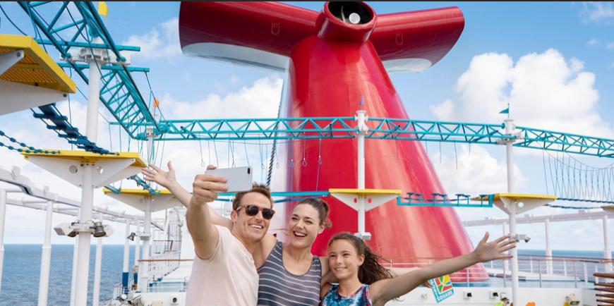 Carnival Ship Lido Deck