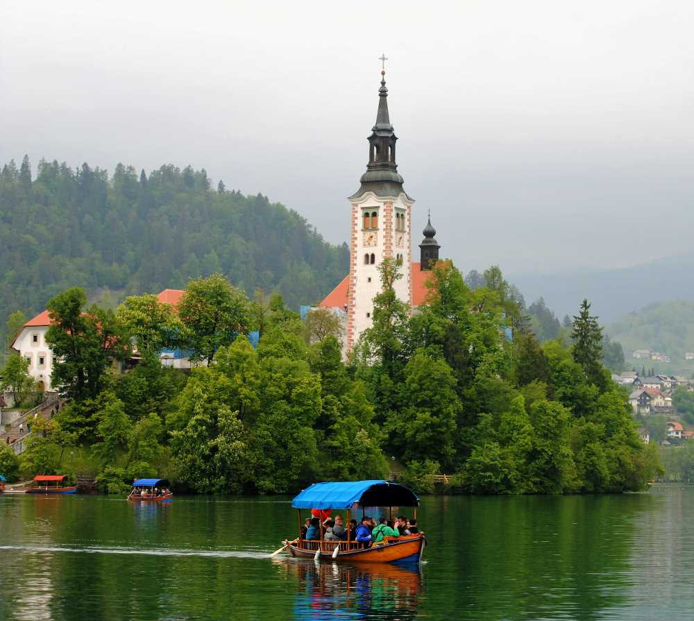 Church of the Assumption of Maria, Bled
