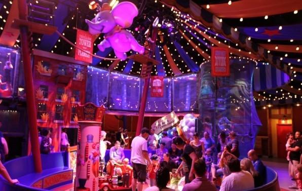 Dumbo-Queue-play area