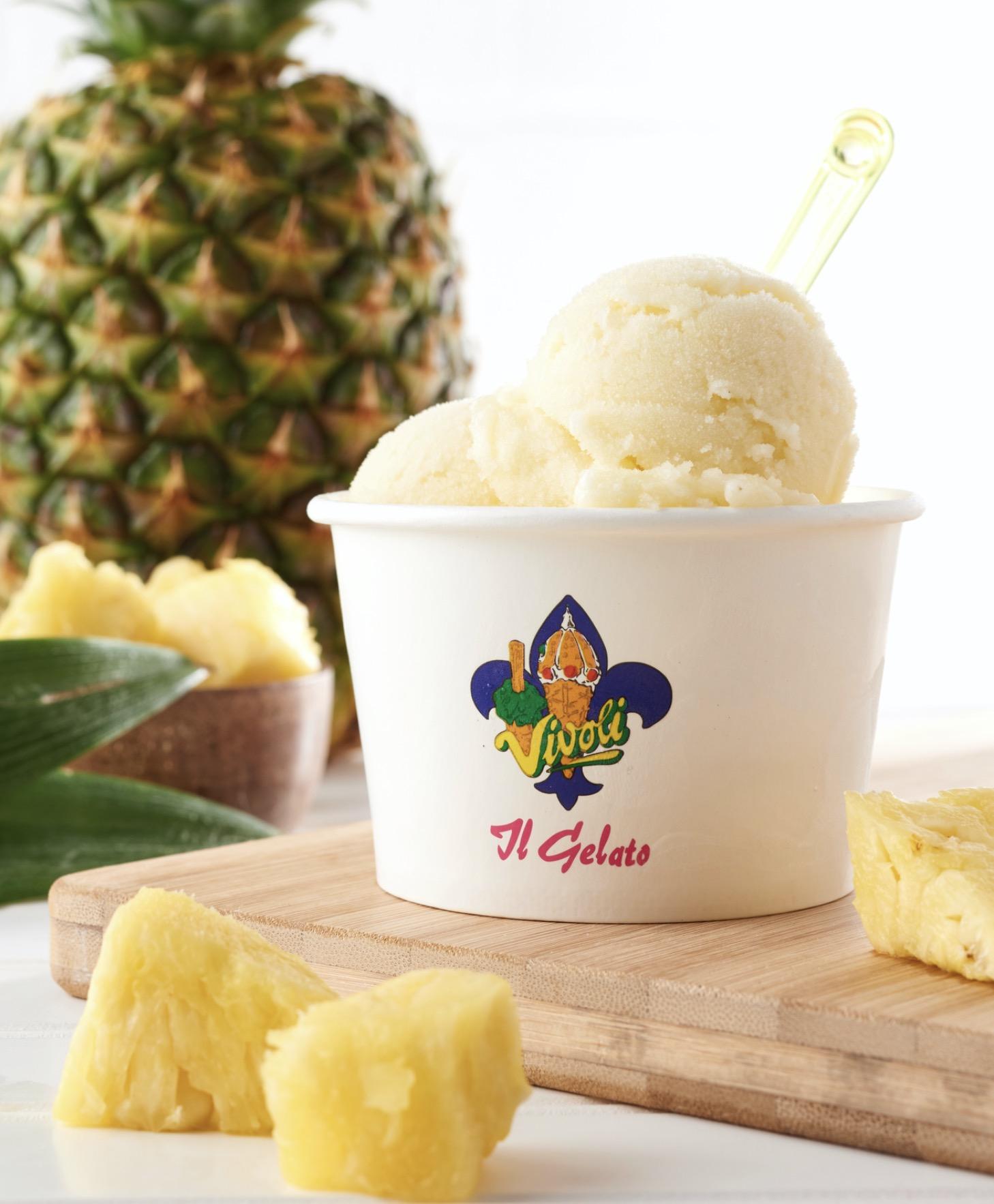 Vivoli it Gelato at Disney Springs Brings Back their Popular Cannoli Shake & Pineapple Sorbet