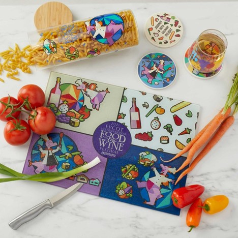 EPCOT Food and WIne Festival Merchandise Figment Passholder collection
