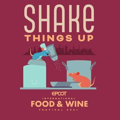 EPCOT Food and WIne Festival Merchandise Remy SHake Things Up collection