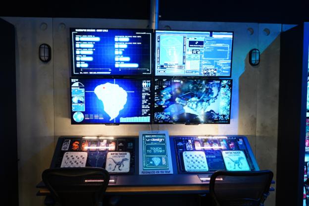 Jurassic World Tribute Store Control Room