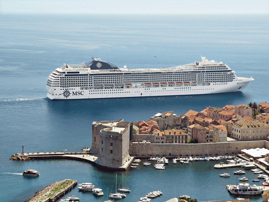 MSC in Dubrovnik, Croatia