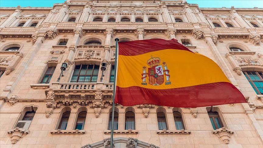 Madrid and Spanish Flag