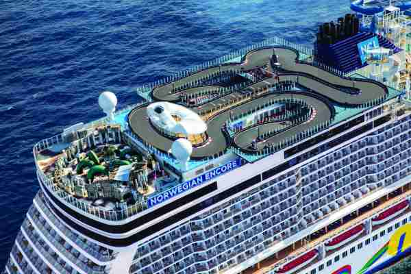 Norwegian Cruise Line Encore Deck