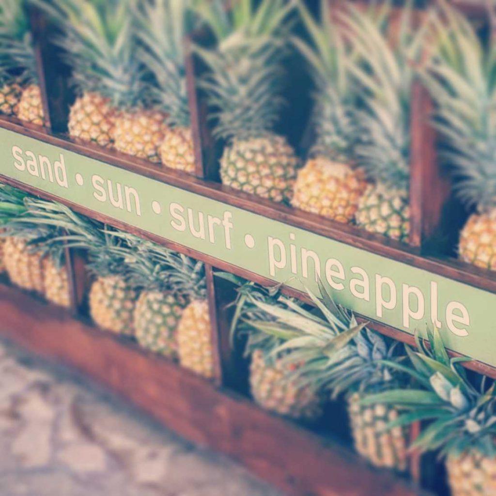 Pineapples, Hawaii