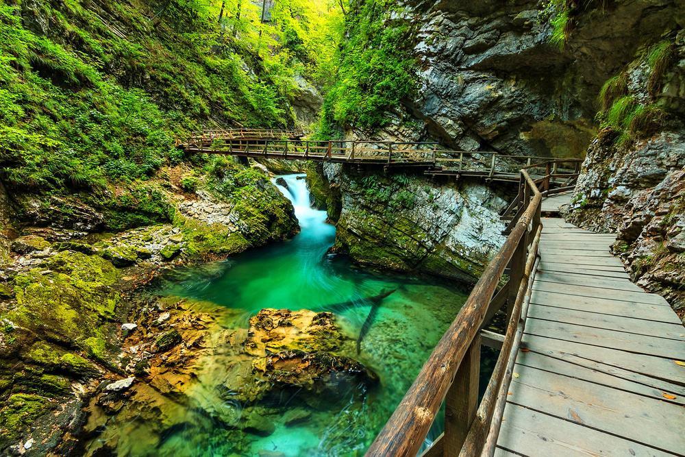 Vintar Gorge, Bled, Slovenia