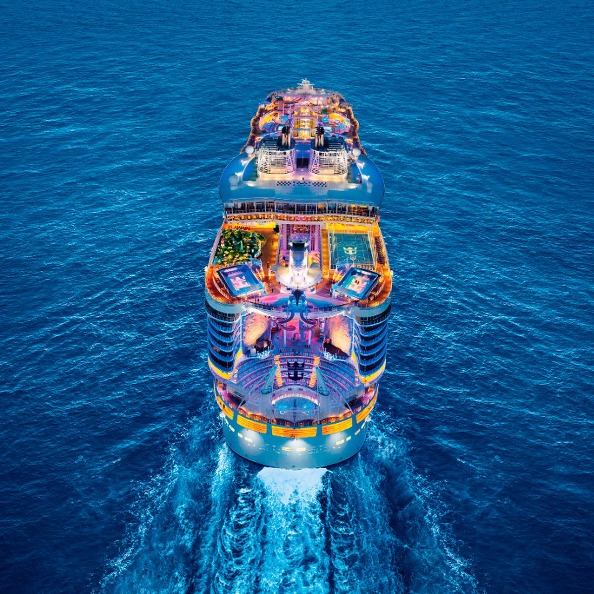 Royal Caribbean's Allure of the Seas: The World's Largest Cruise Ship Will Sail Again in August.