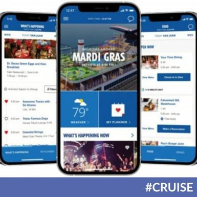 New Features Announced for Carnival Cruise Line's HUB App