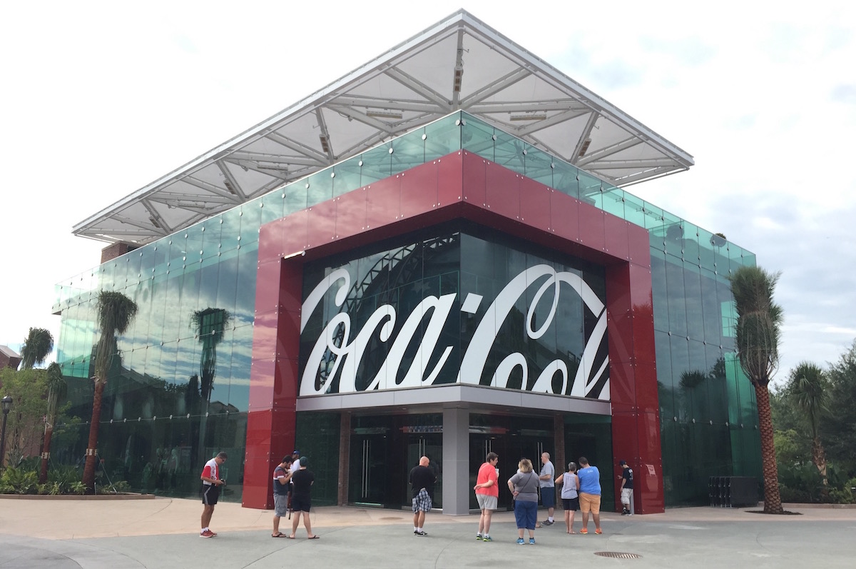The Coca-Cola Store at Disney Springs Celebrates Iconic Hilltop commercial With a New Drink