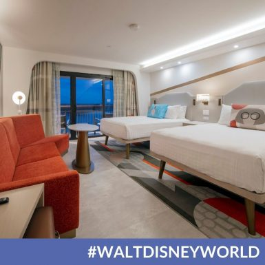 Walt Disney World Shares First Look at a Reimagined Guest Room at Disney's Contemporary Resort