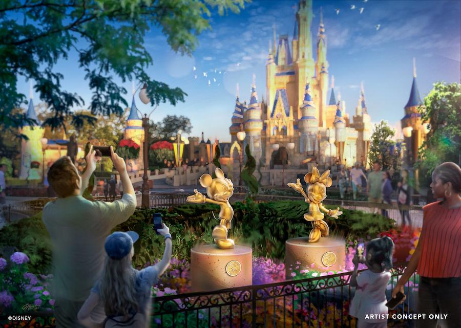 Walt Disney World Reveals More 50th Anniversary Details
