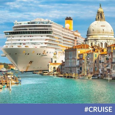 Cruise Ships Sailing into Venice Could Soon Be a Thing of The Past