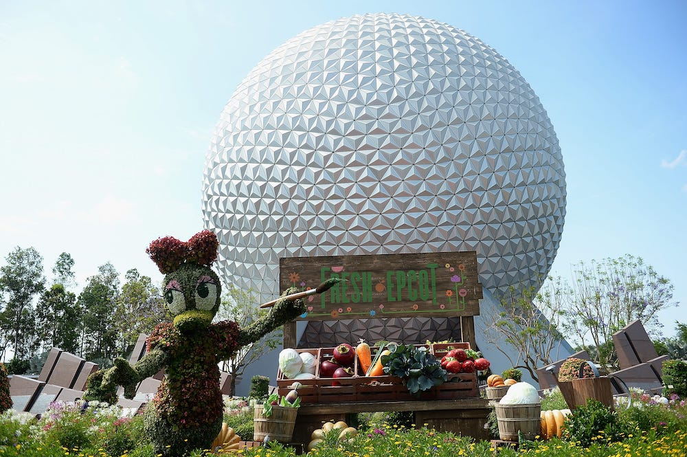 The Classic Rope Drop Experience Returns to Epcot