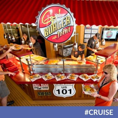 Guy Fieri Announces New Partnership With Carnival Cruise Line For Burger Home Delivery