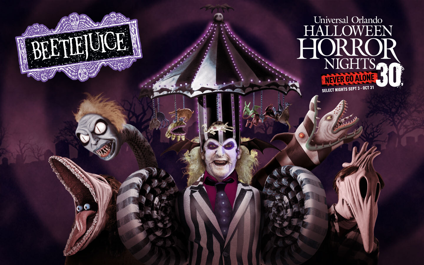 Get Your Tickets Tickets Now for Halloween Horror Nights 30 at Universal Studios Florida