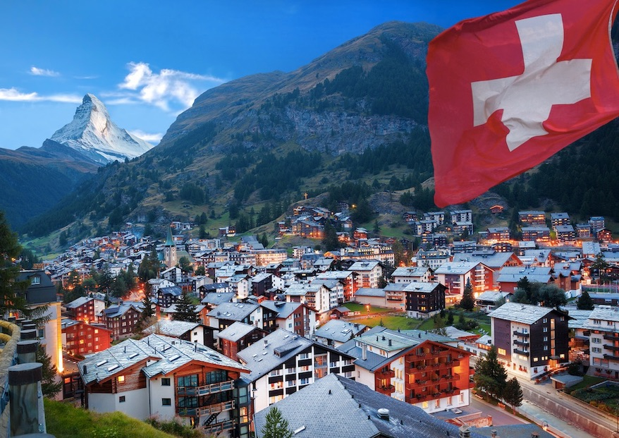 Switzerland Reopens To Vaccinated North Americans
