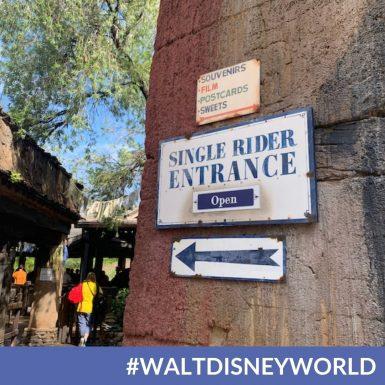 Single Rider Lines are Back at Walt Disney World