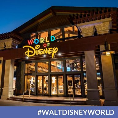 World of Disney Store at Disney SpringsNow Offers Mobile Checkout