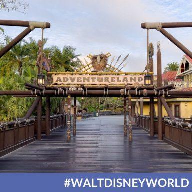 Disney World Begins to Dismantle Magic Kingdom's Adventureland Sign For its Diversity & Inclusion initiative