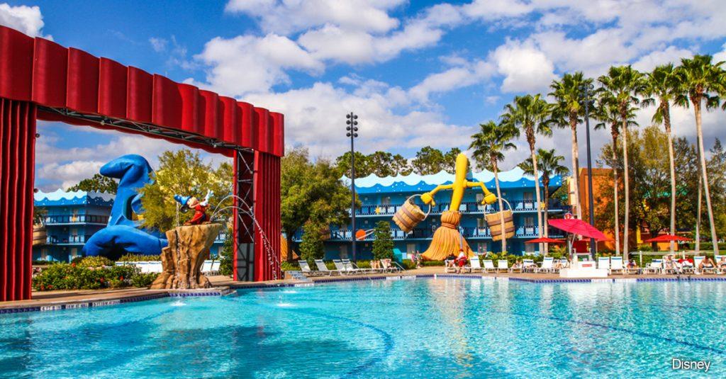 All Stars Movie Resort Pool
