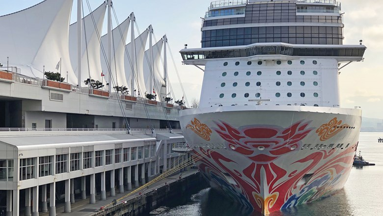 CRusie ship in Vancouver