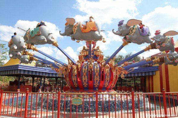 Dumbo the Flying Elephant Disney World
