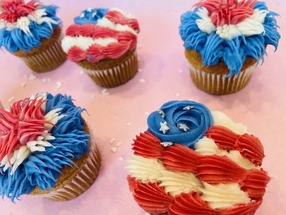 There's a New 4th of July Cupcake at Erin McKenna's Bakery NYC in Disney Springs