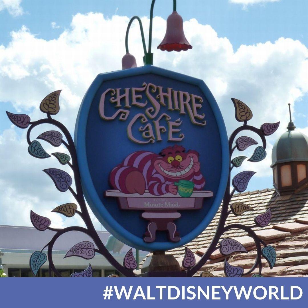 Magic Kingdom's Cheshire Café Reopened