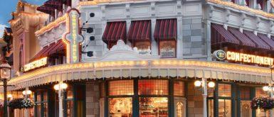 Magic Kingdom's Main Street Confectionary Refurbishment at Completion Revealed