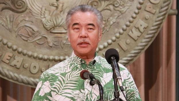 Hawaiian Governor David Ige