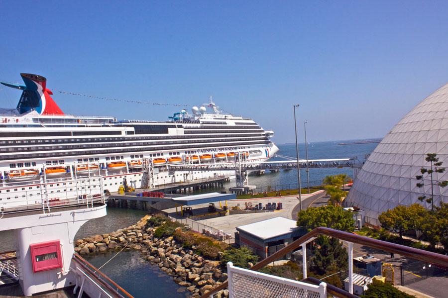 long beach cruise ship port