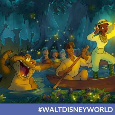 "Take A Sneak Peek At Disney's ""The Princess And The Frog"" Concept Art For Splash Mountain Retheming"
